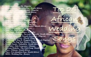 de1b9f96de1 Top 25 African Wedding Songs