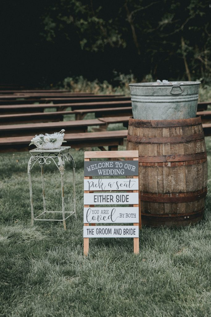 Outdoor Wedding Michigan