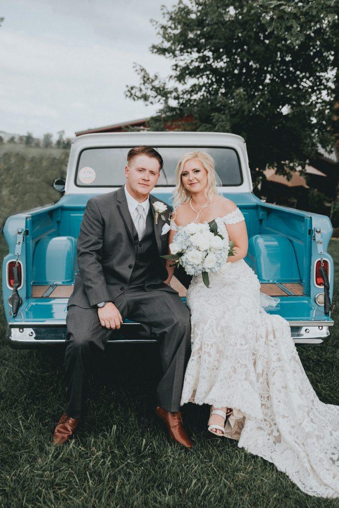 Classic Truck Wedding