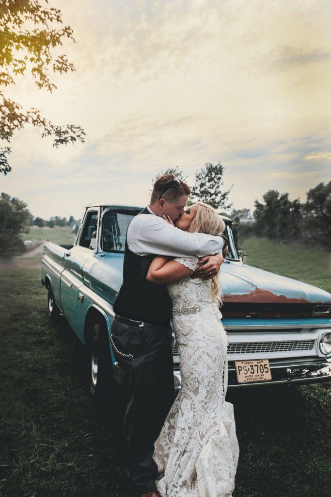 Sunset Wedding Ann Arbor